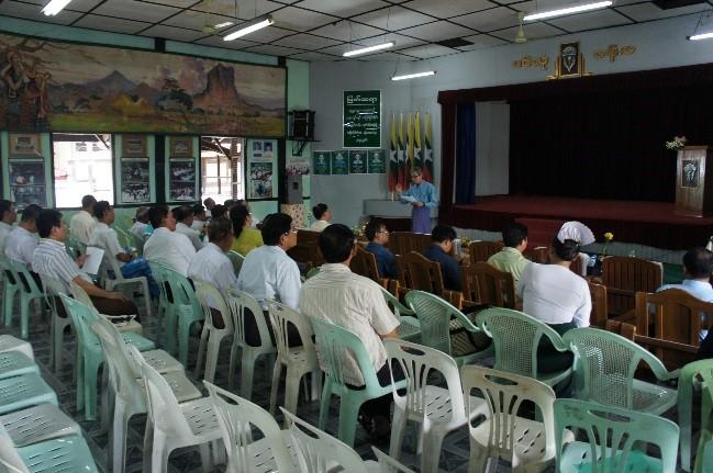 CDRI survey 2 - Yangon